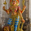 Hindu Goddess Durga on Lion — Stock Photo