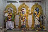 Sri Veeramakaliamman Hindu Temple Deities — Stock Photo