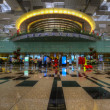 Singapore Changi Airport Departure Terminal — Stock Photo #3837058