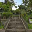 Stock Photo: Stairs at Fort Canning Park