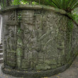 Balinese Stone Wall Carvings 2 - Foto Stock