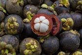 Purple Mangosteen Fruit — Stock Photo