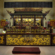 Stock Photo: Chinese Temple Altar of Gods