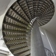 Under the Spiral Staircase — Stock Photo