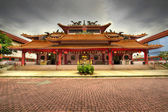 Chinese Temple Paved Square — Stock Photo