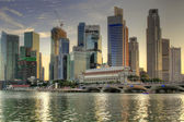 Merlion Park in Singapore 3 — Stock Photo