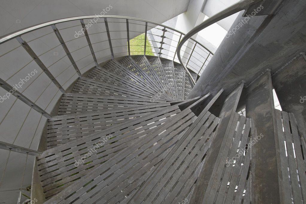 Metal Spiral Staircase Stock Photo Davidgn 3893280