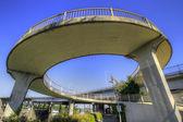 Spiral Bridge Walkway — Stock Photo