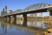 Historic Hawthorne Bridge — Stock Photo