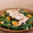 Stock Photo: Healthy chicken salad