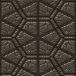 Textured leather tile — Stock Photo