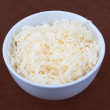 Shredded cheese — Stock Photo