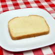 One slice of bread - making a blt — Stock Photo #3588948