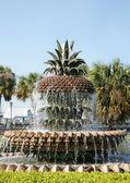 Pineapple fountain — Stock Photo