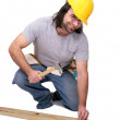 Construction man — Stock Photo