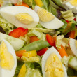 Closeup of egg salad — Stock Photo