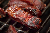 Costillas bbq — Foto de Stock