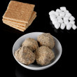 Smores truffles - Stock Photo