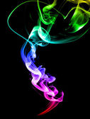 Colored smoke — Stock Photo