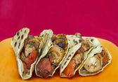 Chicken tacos — Stock Photo