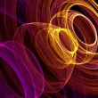 Abstract background with colorful rings — Stock Photo