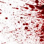 salpicaduras de sangre seca — Foto de Stock