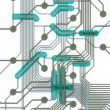 Stock Photo: Electronic circuit board