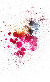 Colorful ink splatter — Stock Photo
