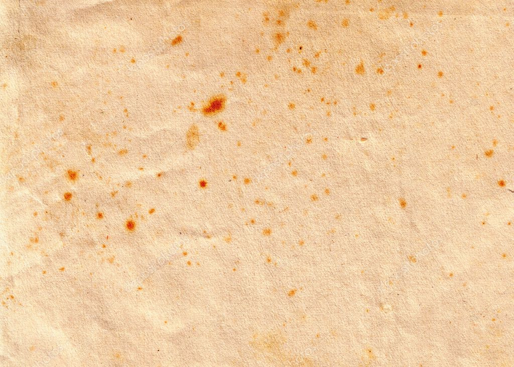 Grungy old paper texture with stains — Stock Photo #2832770