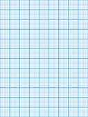 Blue graph paper — Stock Photo