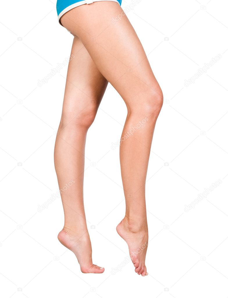 Image of smooth and beautiful female legs — Stock Photo #2889242