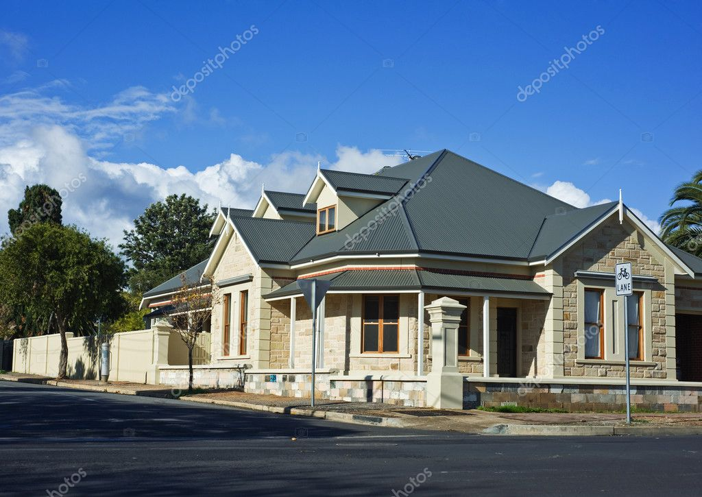 Modern Town House In Australia — Stock Photo #3426027