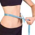 Slim waist — Stock Photo