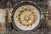 The Prague Astronomical Clock,calendar — Stock Photo