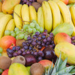 Mixed fruit vertical - Stockfoto