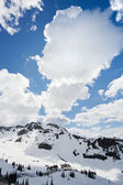 View from Whistler Peak vertical — Stock Photo