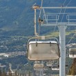 Chair lifts at Whistler Peak British Columbia — Stockfoto