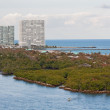 Entrance to Port Everglades, Fort Lauderdale, Florida - Стоковая фотография
