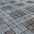 Stone paved ground - Stock Photo