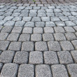 Stone paved road - Stock Photo