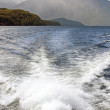 Doubtful sound and waves - Stock Photo