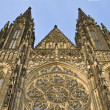 Royalty-Free Stock Photo: St.Vitus Cathedral-Prague Castle