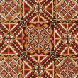 Romanian handicraft texture — Foto Stock