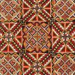 Romanian handicraft texture — Stock Photo