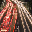 Night traffic in the city — Stock Photo #3162341