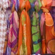 Colorful scarfs — Stock Photo