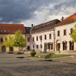 Old town square — Stock Photo