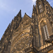 St.Vitus Cathedral-Prague Castle — Stock Photo