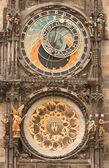Astronomical clock-Prague — Stock Photo