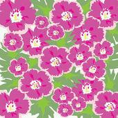 Pink florets — Stock Vector